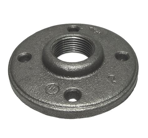 black malleable iron pipe threaded floor flange fittings p ebay