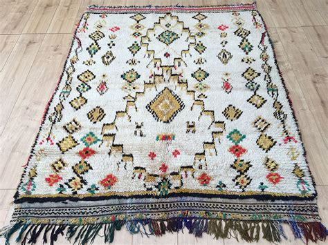 moroccan rug east unique vintage moroccan rug tapis berbere azilal 180x144cm a 041