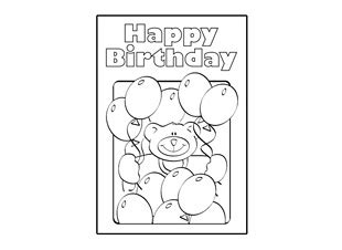 black and white birthday card template free 7 best images of black and white printable birthday cards