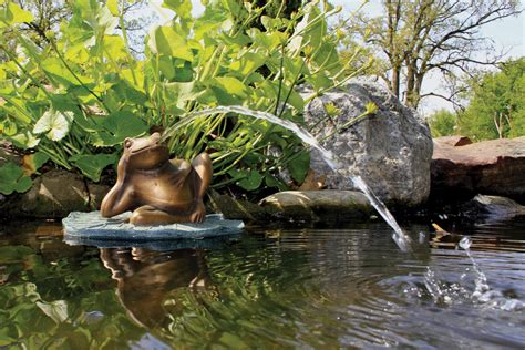 pond fountains decor beautify and maintain your water