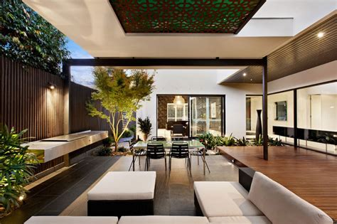 alfresco designs indoor outdoor house design with alfresco terrace living area modern house designs