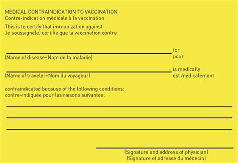 Vaccination Certificate Letter Immunize Utah