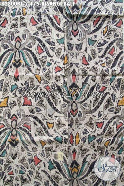 Sprei Katun Motif Pisang produk kain batik klasik terbaru motif pisang bali batik