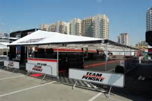 Motorsport Awning Transporter Canopy Racing Larsens Inc