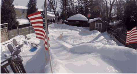Backyard Luge by When This Dad S Neighbors See What He Built In His