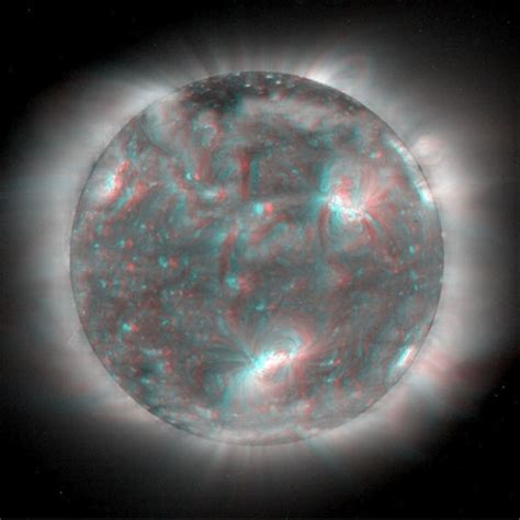 3d Images Of Sun To Help Nasa Predict Solar Flares by View The Sun In 3d