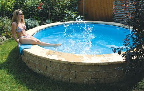 pool mauern santuro mauerkultur mauerprodukte runde mauern