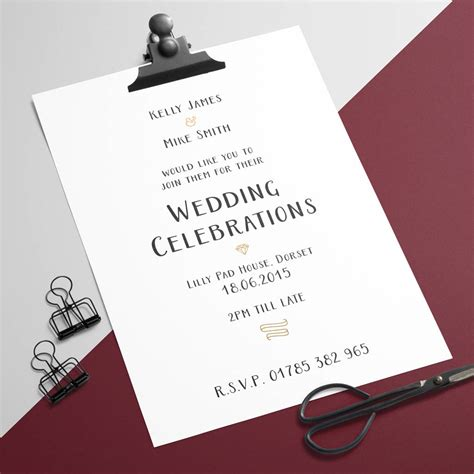 Wedding Invitation To Friends by Wedding Invitation Friends Chatterzoom