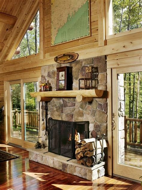 log home fireplaces 37 best katahdin log home spaces accents images on