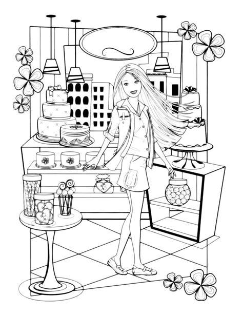 30 Attività Casa Di Barbie Da Colorare | Barbie