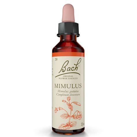 mimulus fiore di bach fiori di bach mimulus 20ml originale mimulus