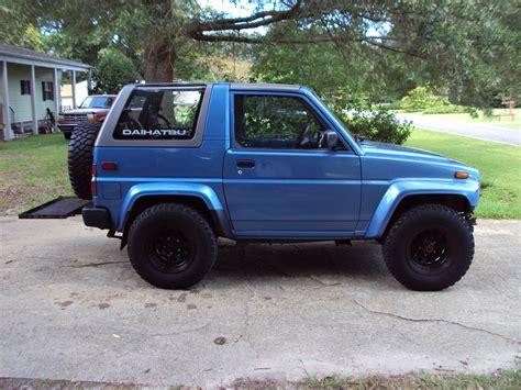 1992 daihatsu rocky tonkatracker 1992 daihatsu rockysx sport utility top