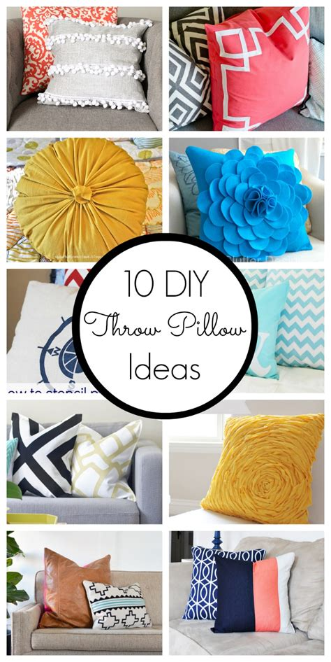 diy designs 10 diy throw pillow ideas