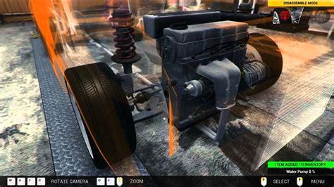 car mechanic simulator 2014 replace water pump check