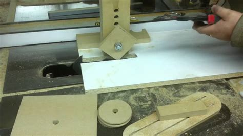 simple tablesaw jig   wooden pulleys youtube