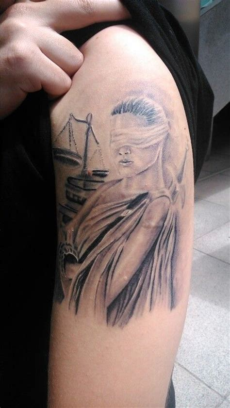 lady justice tattoo justice tattoos