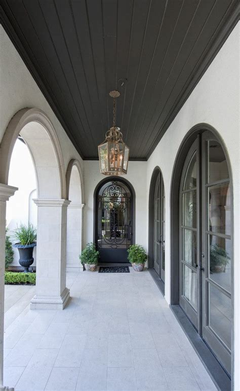 Arched Patio Doors Arched Doors Exterior Bathroom Traditional With Hung Windows Tile Floors Soaking Tub