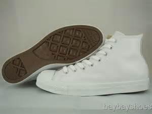 Converse Hi Monoblack Indonesia Madeunisex converse all hi leather white mono classic chuck