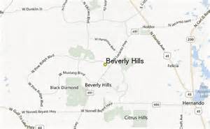 Beverly Hills Florida Map by Beverly Hills Weather Station Record Historical Weather