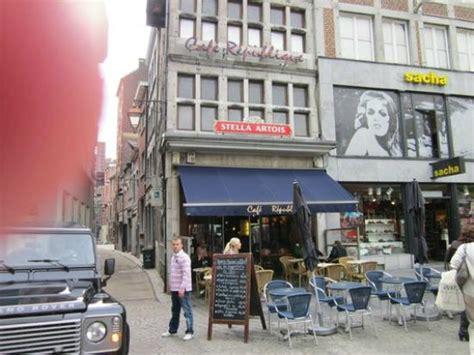 restaurants in liege cafe republique liege restaurant reviews phone number