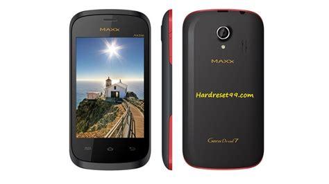reset android maxx maxx genxdroid7 ax352 hard reset how to factory reset