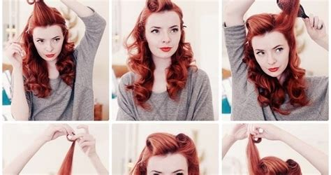 how to do vintage hairstyles vintage hairstyle tutorial alldaychic