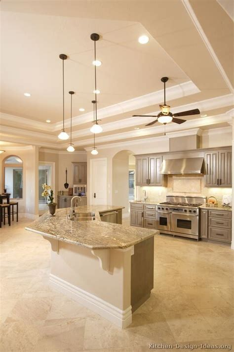 ceiling ideas for kitchen gray kitchen cabinets gray kitchens and kitchens on pinterest