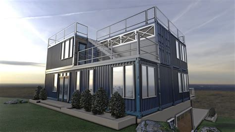 Awesome House Plans by Advantages Of A Container House Mods International
