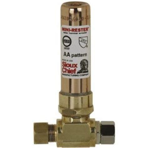 plumbing how do i fix a quot water hammer quot problem home
