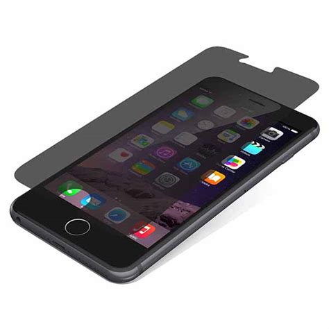 Invisible For Iphone 6 Plus zagg invisible shield privacy glass for iphone 6 plus