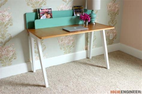 25 Stylish Diy Desks Diy Modern Desk