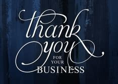 shop thank you cards for business by cardsdirect 174