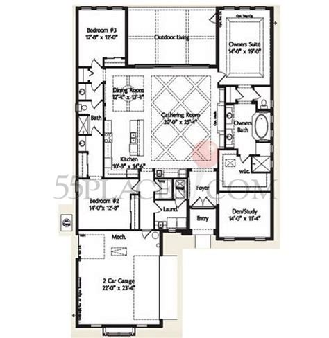 country club floor plans green ii floorplan 3619 sq ft plantation bay golf