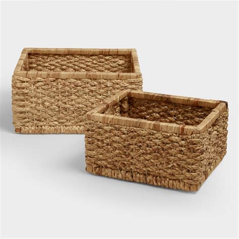 Natural Mitzy Baskets   World Market