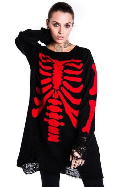 Sweater Bloods s knitwear luxury alternative clothing by killstar