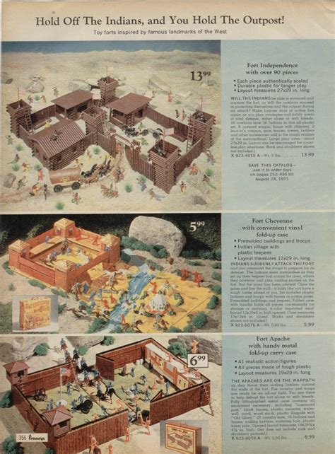 j catalog play sets jc penney 1970 catalog pages