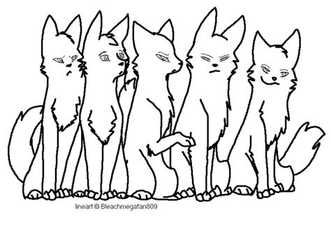 warrior cat clanbase 13 images of warriors clan meeting coloring page warrior