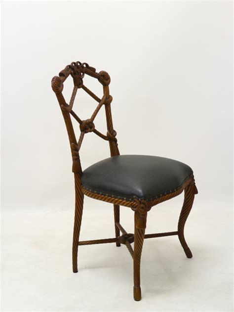 stuhl antik stuhl sitzm 246 bel schminkstuhl mahagoni mit schwarzem leder