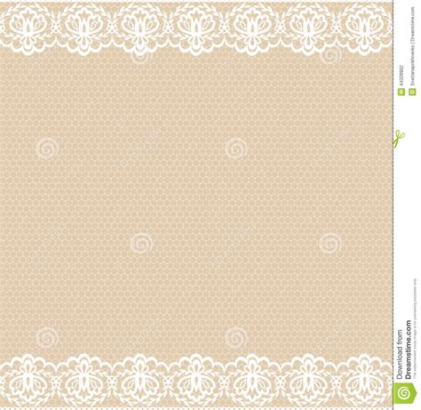 lace template lace border stock vector image 44328902