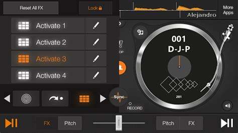 edjing 5 full version for android download edjing pro dj mixer turntables android apps apk