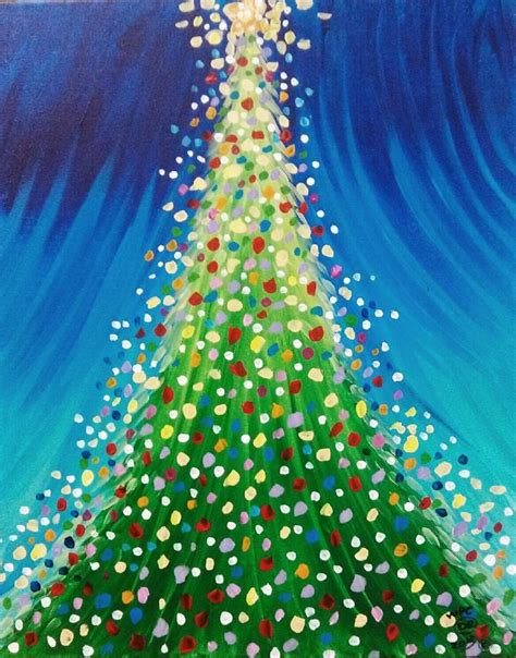 25 best ideas about christmas paintings on pinterest