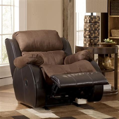 Leather With Fabric Seat Cushions by With A Two Tone Fabric Leather Combination Plush Pillow