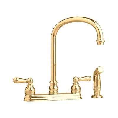 american brass 174 two handle kitchen faucet american standard hton 2 handle kitchen faucet in