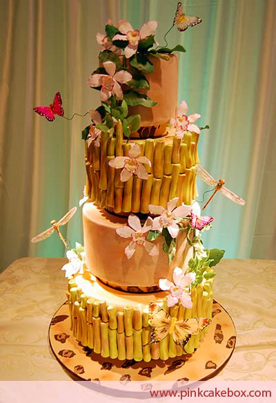 tropical wedding cakes - Luau Wedding Cakes Pictures