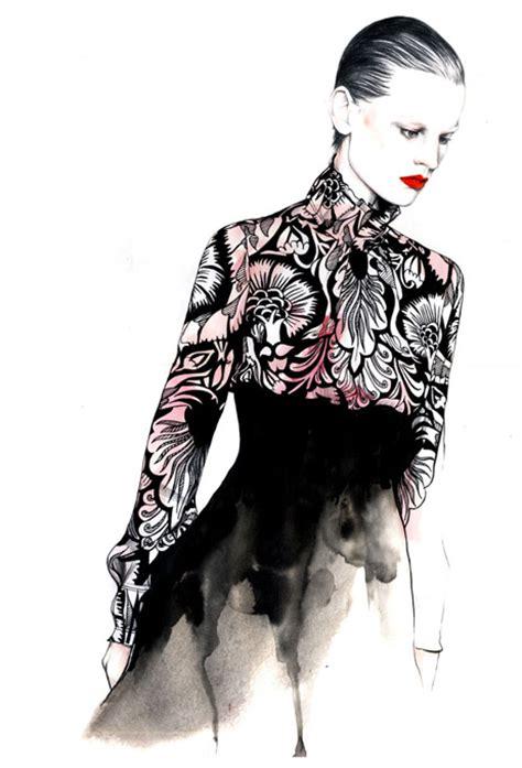 fashion illustration competition 2014 fashion illustrations i caroline andrieu trendsurvivor