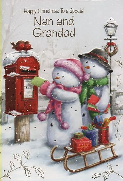 family christmas cards happy christmas   special   grandad