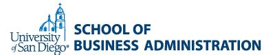 Of San Diego School Of Business Administration Mba business and society link to interesting article re