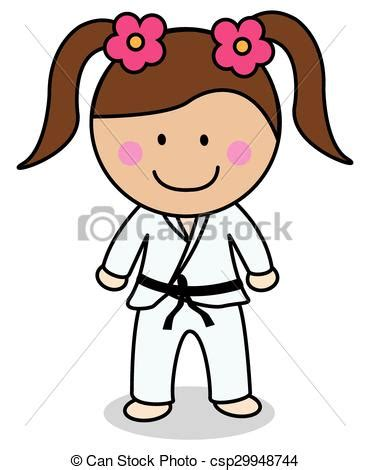 imagenes niños karate dibujos de karate great karate vector reproductor de