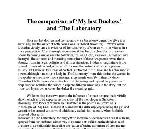 My Last Duchess Essay by College Essays College Application Essays Essay On My Last Duchess