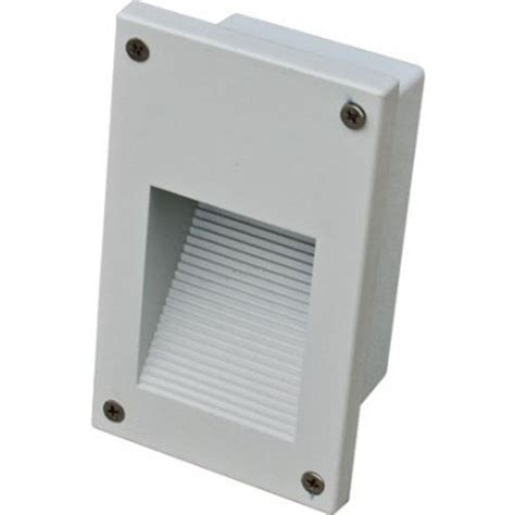 Recessed Led Outdoor Step Lights Filament Design Ashler 12 Light White Outdoor Led Recessed Step Light Cli Dbm4820 The Home Depot